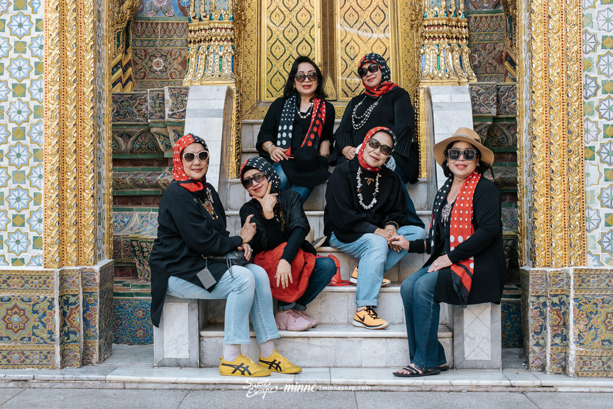 Jim Thompson House and Wat Phra Kaew Friends Trip in Bangkok