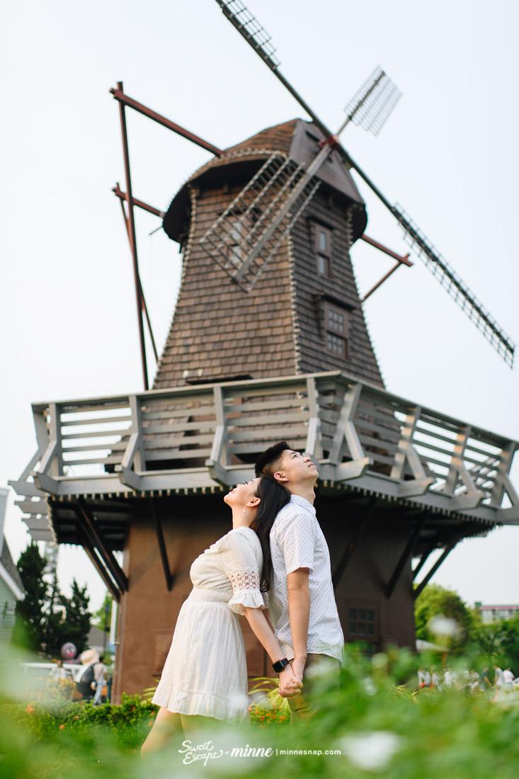 Chocolate Ville Bangkok Thailand Couple Photo Welly & Fiance ช็อคโกแลตวิลล์ พรีเวดดิ้ง