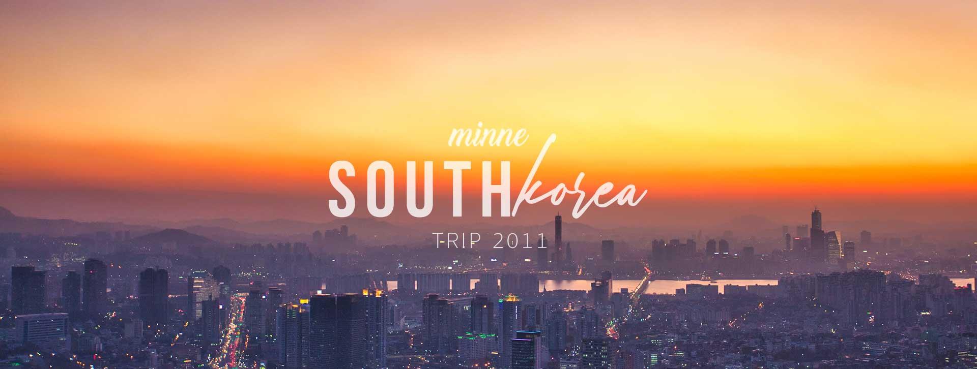 south korea trip 2011 long cover