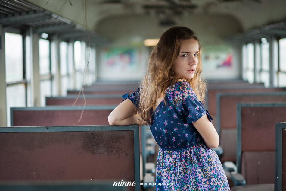 Anastasiya Richi Portrait Fashion Russia in Bangkok