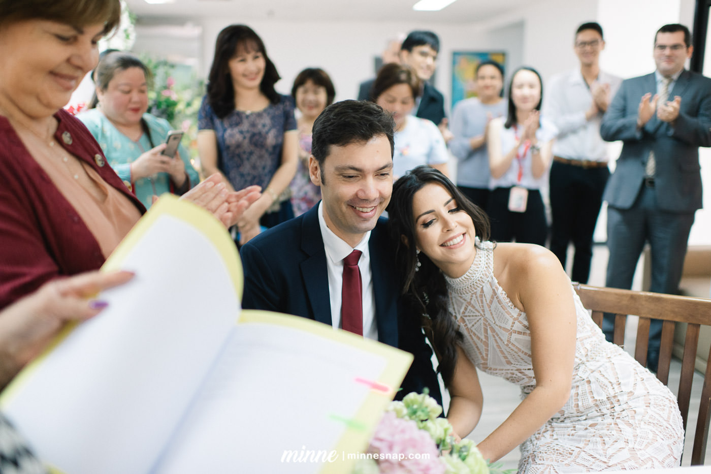 Marriage Registration in Thailand at Embassy of Brazil, Gabriela and Joao