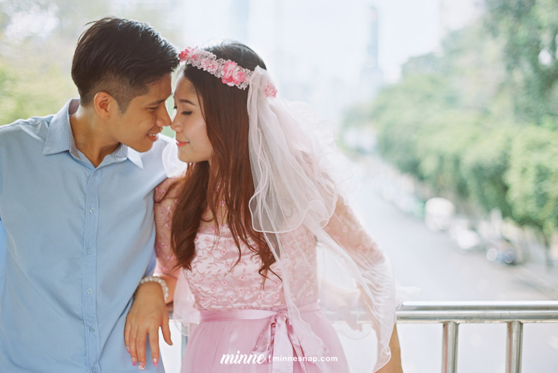 Pre Wedding with Analog Film Camera Phat and Ton in Thailand