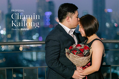 proposal photoshoot bangkok thailand zoom sky bar cover