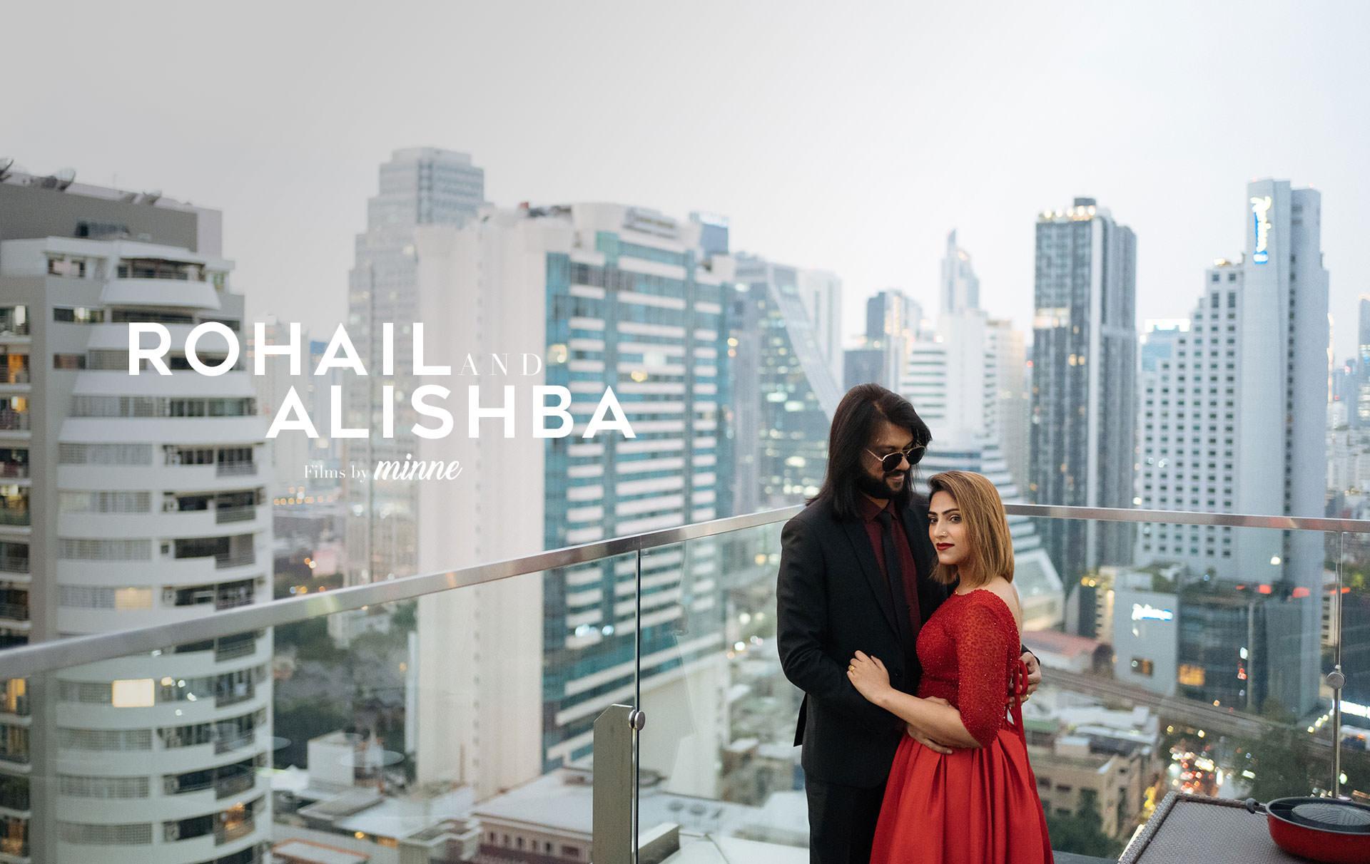 Sky on 20 Birthday Film Rohail & Alishba at Novotel Bangkok Sukhumvit 20