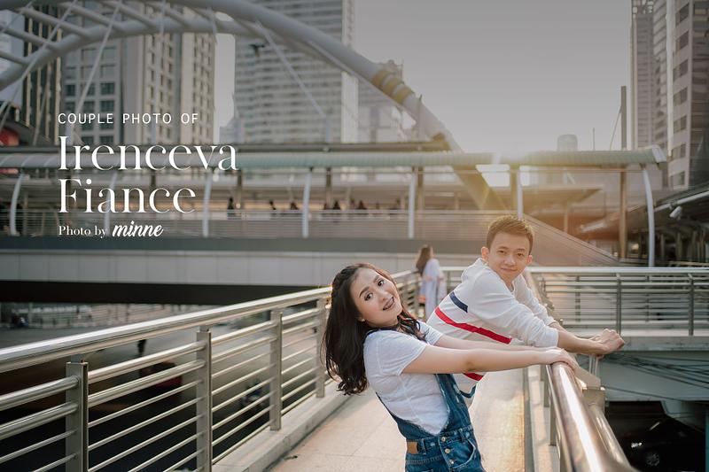 bangkok couple photo shoot emquartier irenceva cover