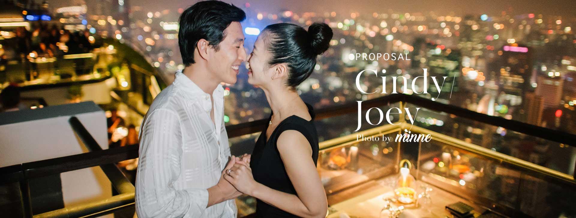 proposal photoshoot bangkok korea couple long cover