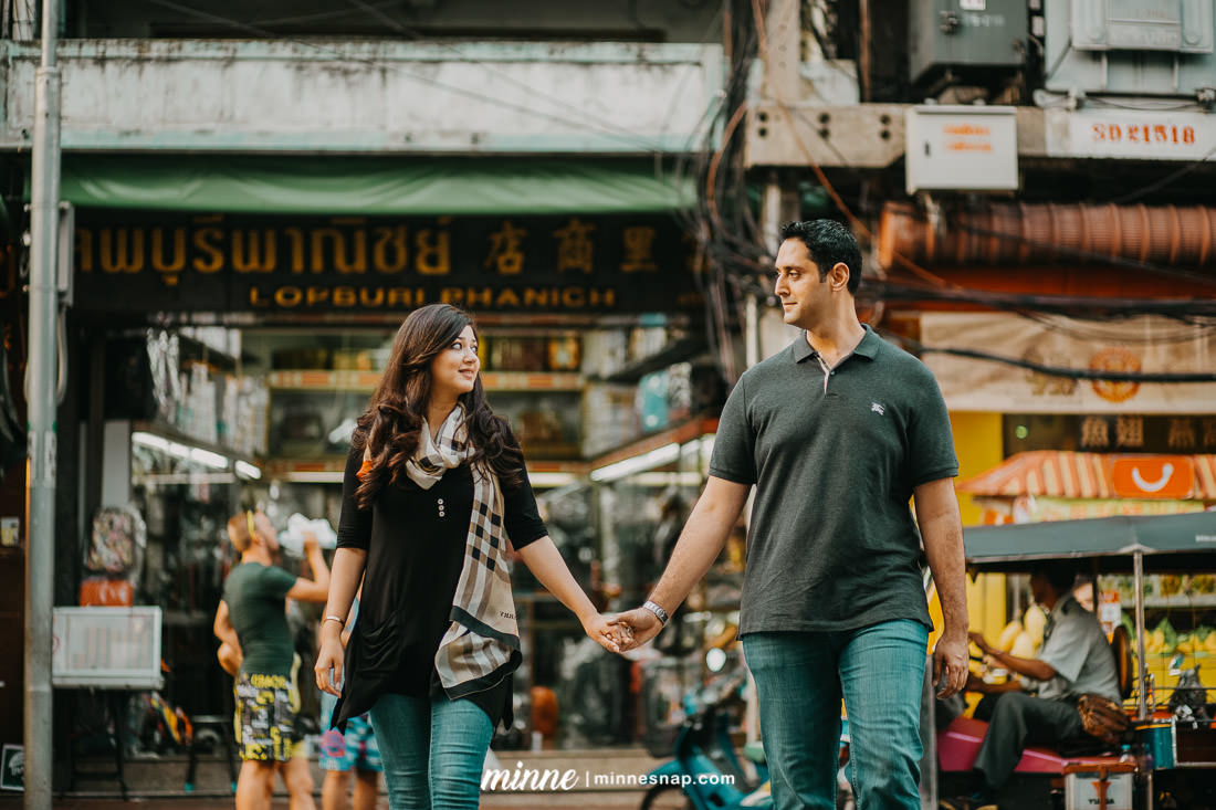 Bangkok Couple Photography, Sam and Usman in Thailand