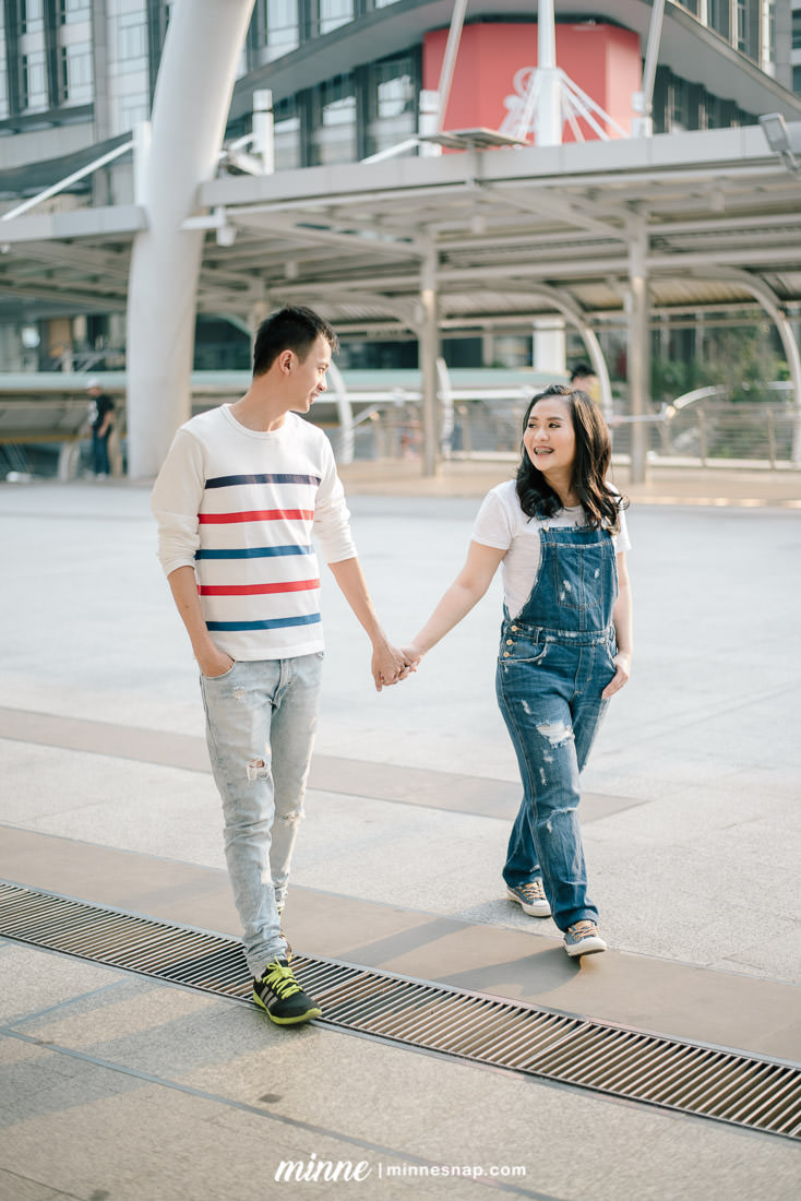Couple Photoshoot in Bangkok at EmQuartier & BTS Chong Nonsi