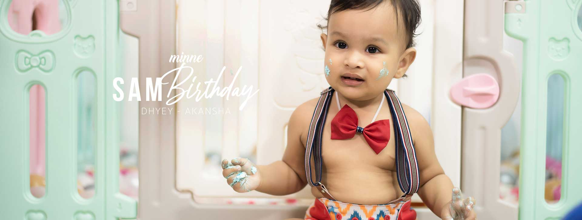 one year birthday party indian family long cover