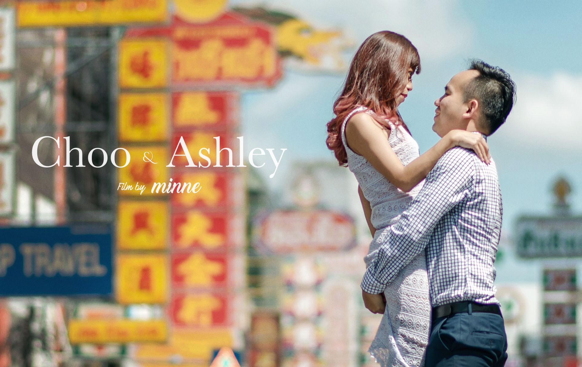 Prewedding Film Choo & Ashley, Bangkok Thailand