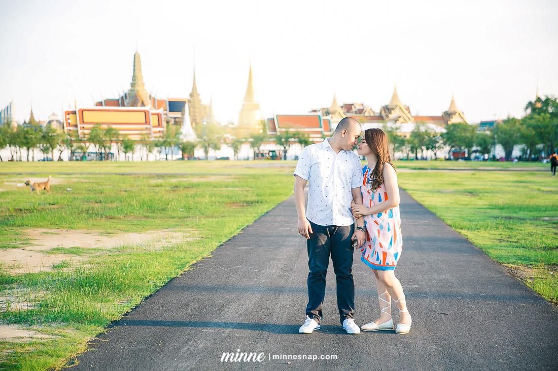 Bangkok Couple Photography Chelo and Lan in Bangkok Landmark