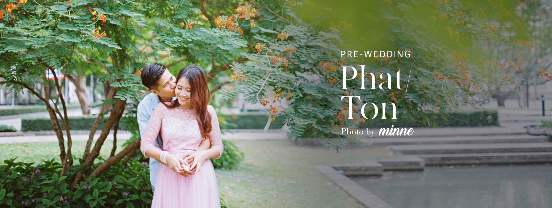 pre wedding with analog film long cover